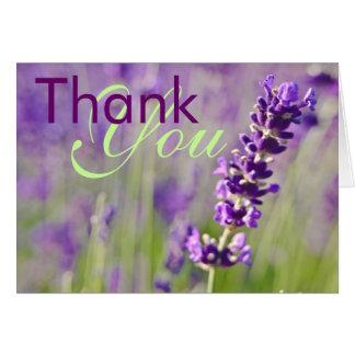 Lavendar • Thank You Card