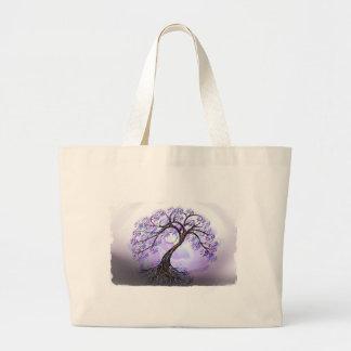 Lavendar Tree of Life Bag