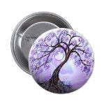 Lavendar Tree of Life Pin