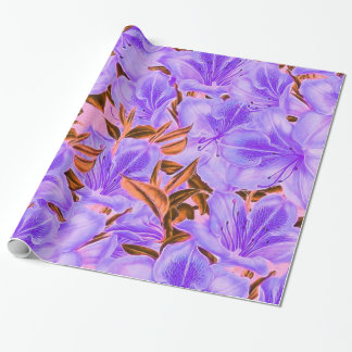 Lavender Abstract Flowers