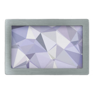 Lavender Abstract Low Polygon Background Rectangular Belt Buckles