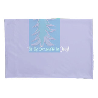 Lavender All I want for Christmas pillowcase