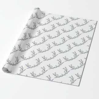 Lavender and Eucalyptus Wrapping Paper