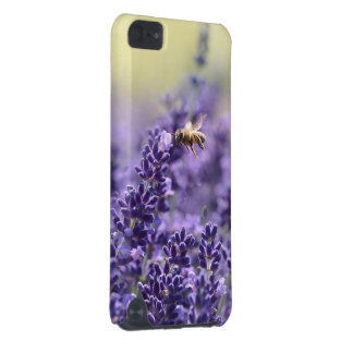 Lavender and Honey Bee iPod Touch (5th Generation) Cover