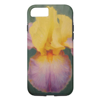 Lavender and Yellow Iris Smart Phone Cover