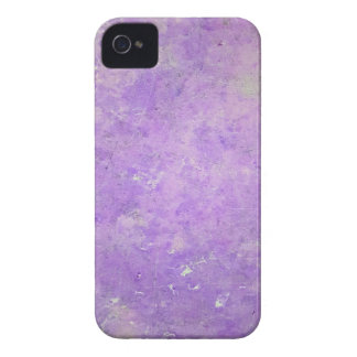Lavender Artistic Marbling Pattern iPhone 4 Case
