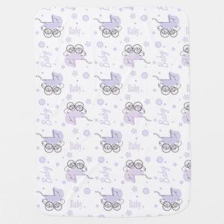 Lavender Baby Buggies Baby Blanket