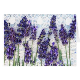 lavender background card