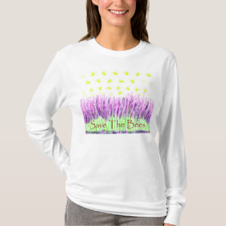 Lavender Bees T-Shirt