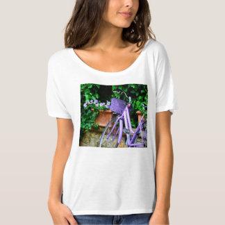 Lavender Bicycle T-Shirt