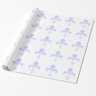 Lavender Blue Fleur-de-lis