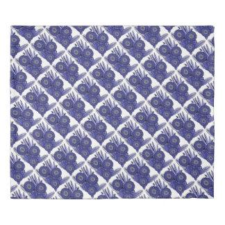 Lavender Blue Gerbera Daisy Flower Bouquet Duvet Cover