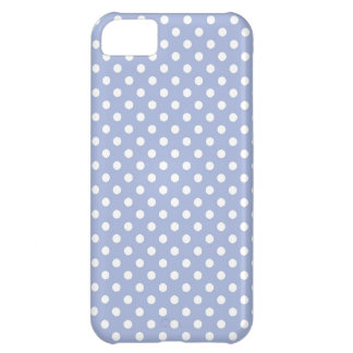 Lavender Blue Small Polka Dot iPhone 5 Case