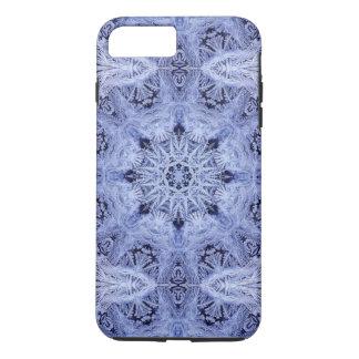 Lavender Blue Snowflake iPhone 7 Plus Case