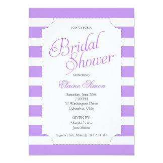 Lavender Bridal Shower Party Invitation