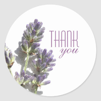 Lavender Bunch | Thank You Stickers