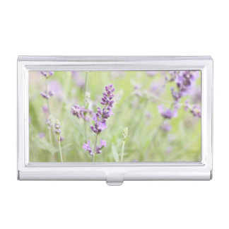 Lavender Business Card Holder