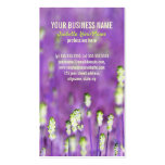 Lavender Business Card Templates