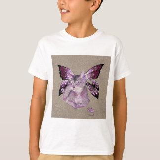 Lavender Cat Shirt