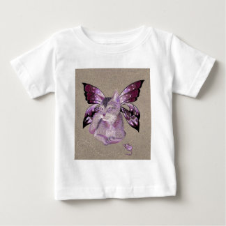 Lavender Cat T-shirts