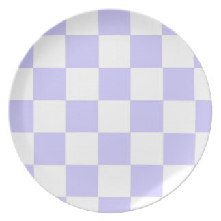 Lavender Checkered Plate