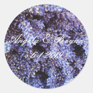 Lavender Classic Round Sticker
