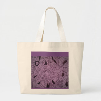 Lavender Colored Practical Totes