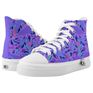Lavender Confetti High Tops