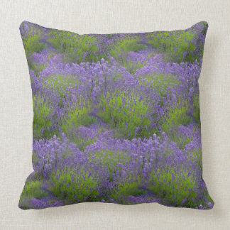 """Lavender Cotton Throw Pillow 20"""" x 20"""""""