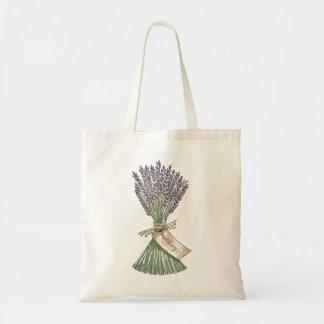 Lavender Country Garden Wedding Gift Bag