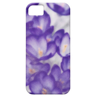 Lavender Crocus Flower Patch Case For The iPhone 5
