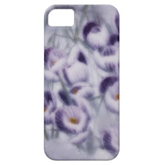 Lavender Crocus Patch iPhone 5 Case