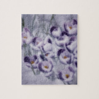 Lavender Crocus Patch Puzzles