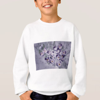 Lavender Crocus Patch Sweatshirt