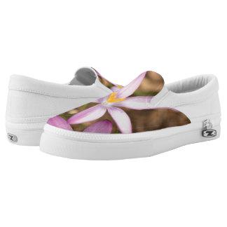 Lavender Crocus Triangle Slip-On Sneakers