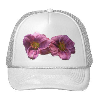 Lavender Day Lilies ~ hat