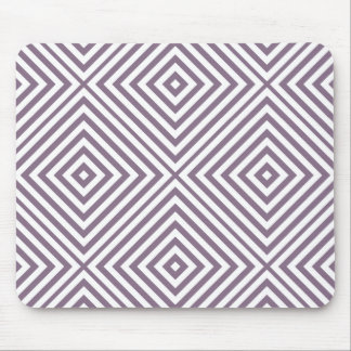 Lavender Diamond Chevron Mouse Pad