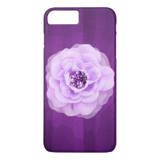 Lavender Diamond Rose Purple Grunge iPhone 7 Plus Case