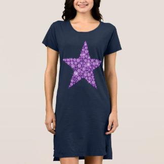 Lavender Diamond Star Dress
