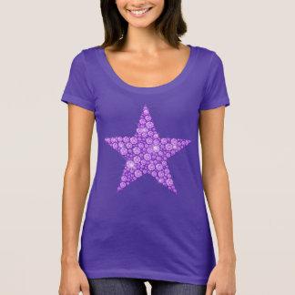 Lavender Diamond Star T-Shirt