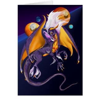 Lavender Dragon Card