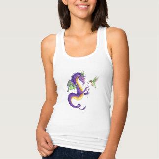 Lavender Dragon tank top