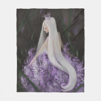 Lavender Dreams Fleece Blanket