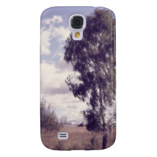 Lavender Dusk, Rural Nature Galaxy S4 Cover