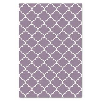 Lavender Elegant Moroccan Design Tissue Paper