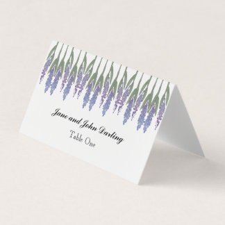 Lavender Escort/Place Card