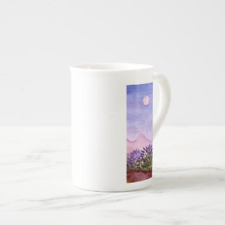 Lavender Farm Bone China Mug