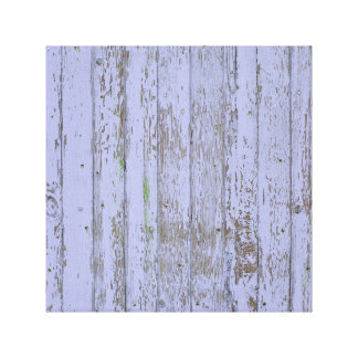 Lavender Faux Wood Texture Canvas Print