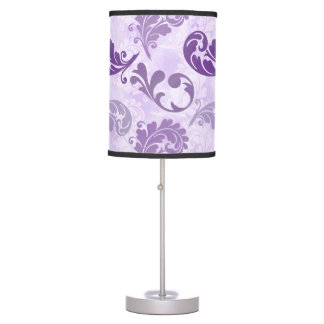 Lavender, Feather, Purple, Feathers, Elegant Table Lamp