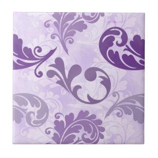 Lavender, Feather, Purple, Feathers, Elegant Tile